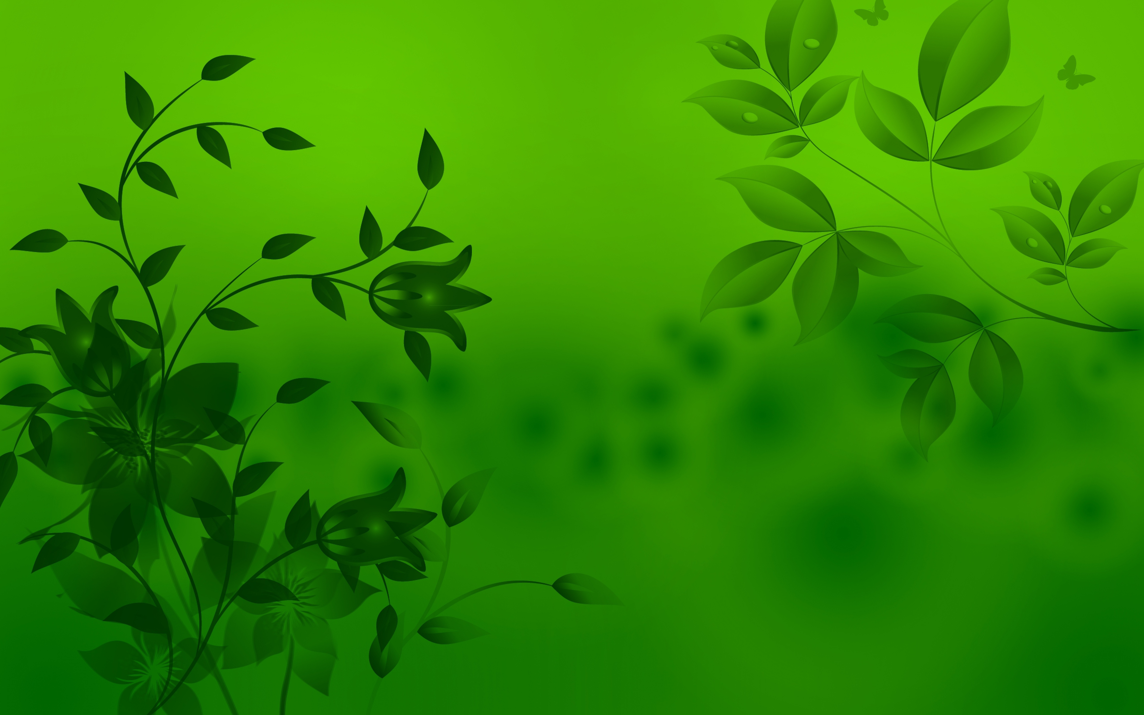 Wallpaper With Green