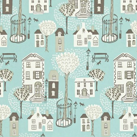 Wallpaper With Houses