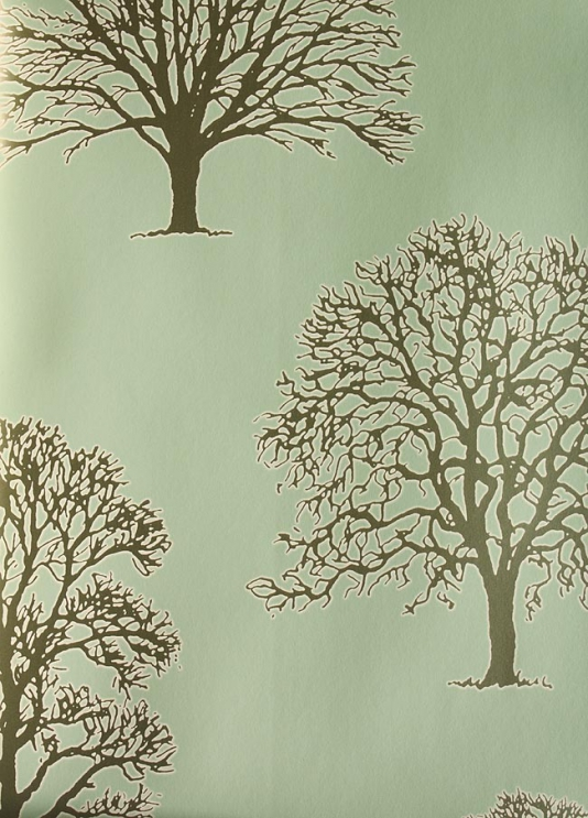 Wallpaper With Trees On It