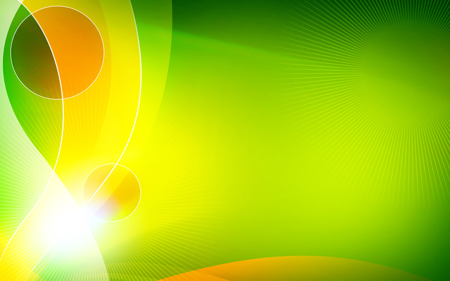 Wallpaper Yellow Green