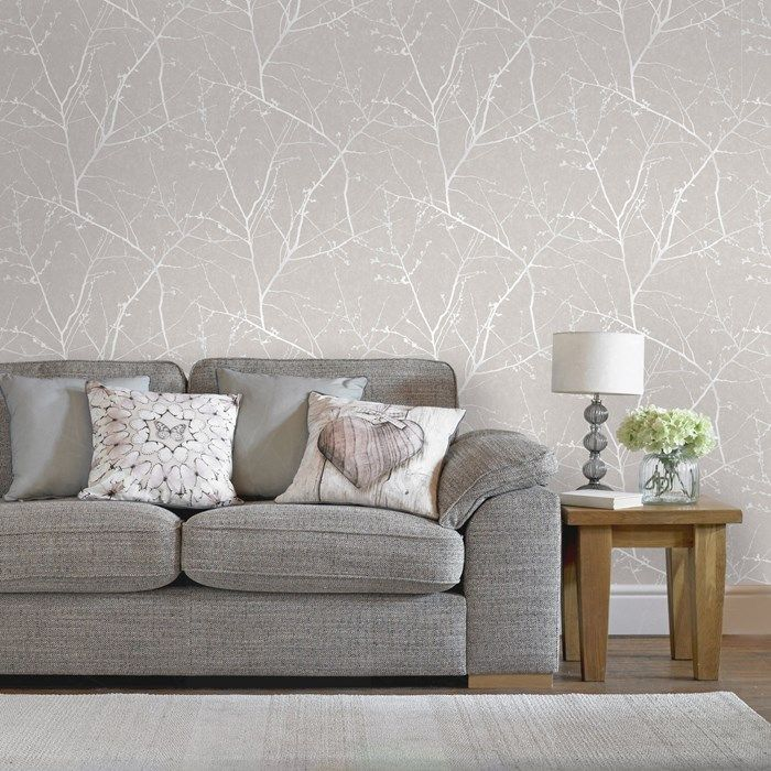Wallpapered Living Rooms Ideas