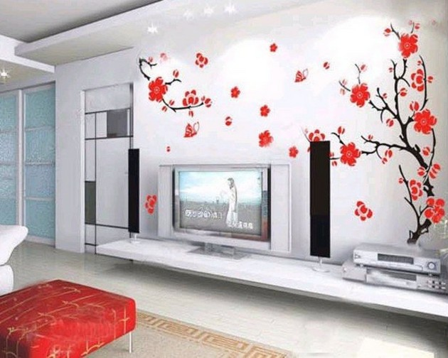 Wallpapered Rooms Ideas
