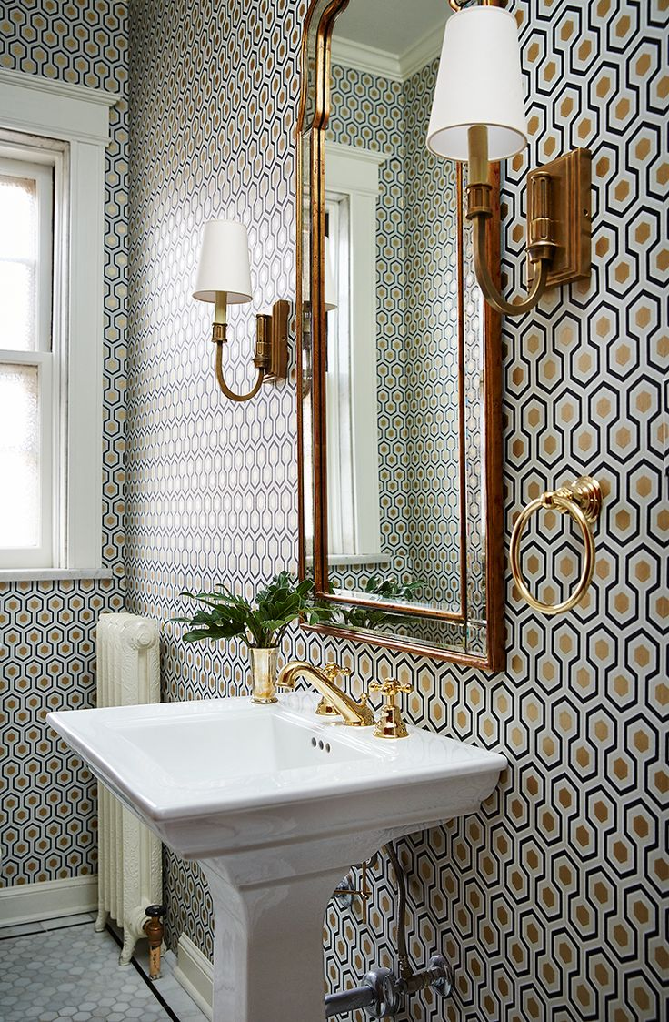 Wallpapering Bathrooms