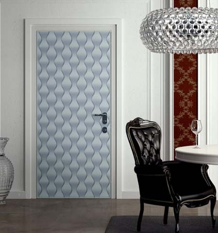 Wallpapering Doors