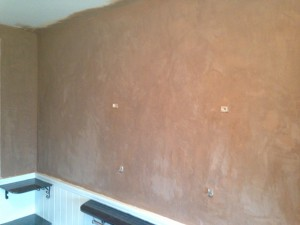 Wallpapering New Plaster