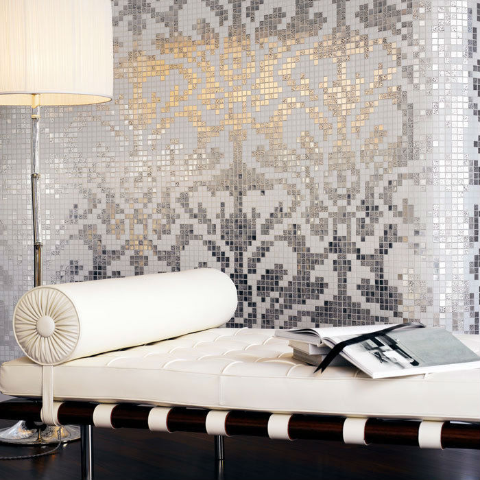 Wallpapering Over Tiles