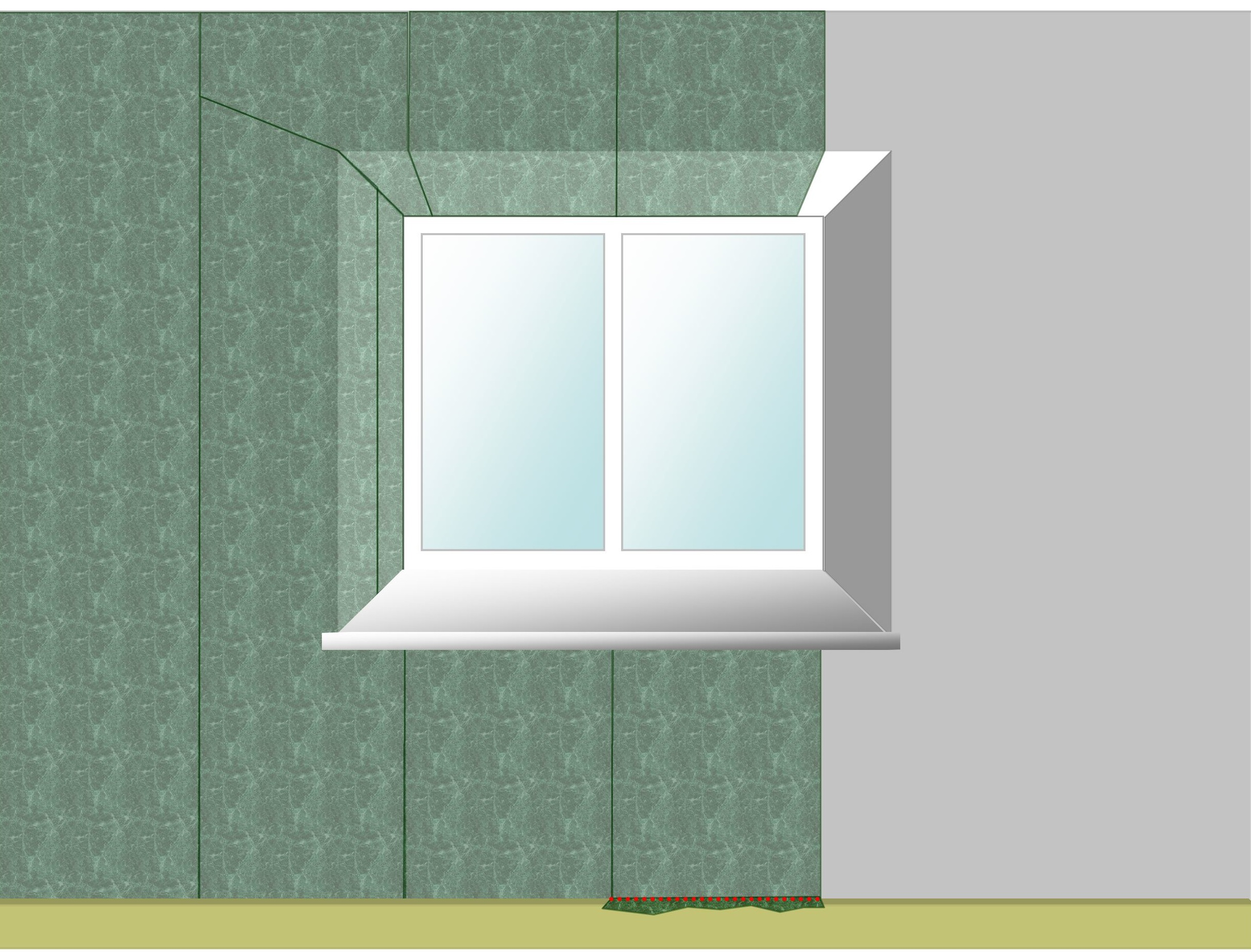 Wallpapering Windows