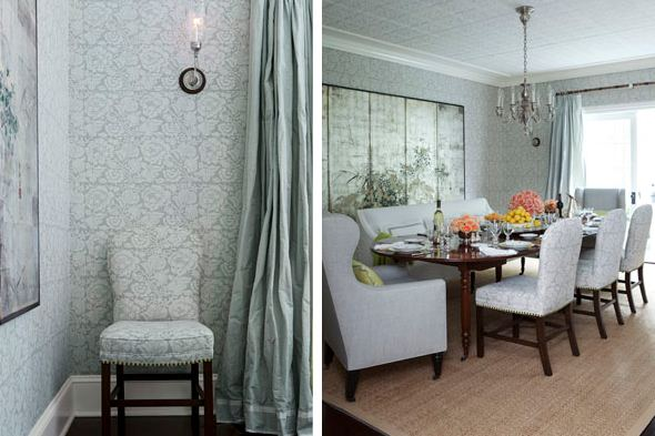 Wallpapering With Fabric