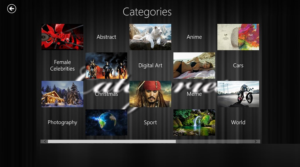 Wallpapers Categories