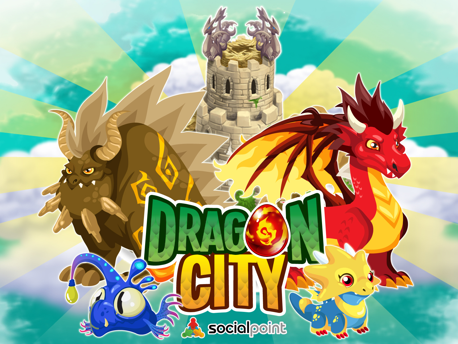 Wallpapers Dragon City