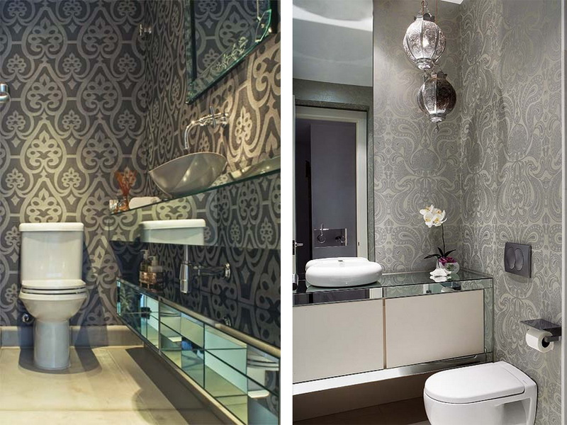 Wallpapers For Bathrooms Walls