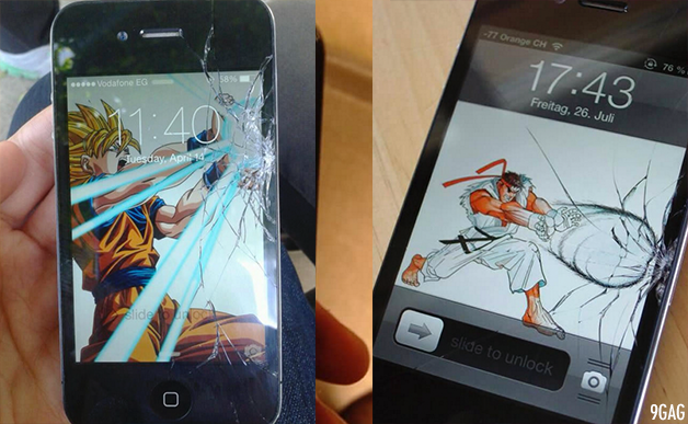 Wallpapers For Cracked Phone Screens