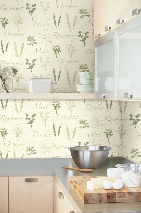 Wallpapers For Kitchen Walls