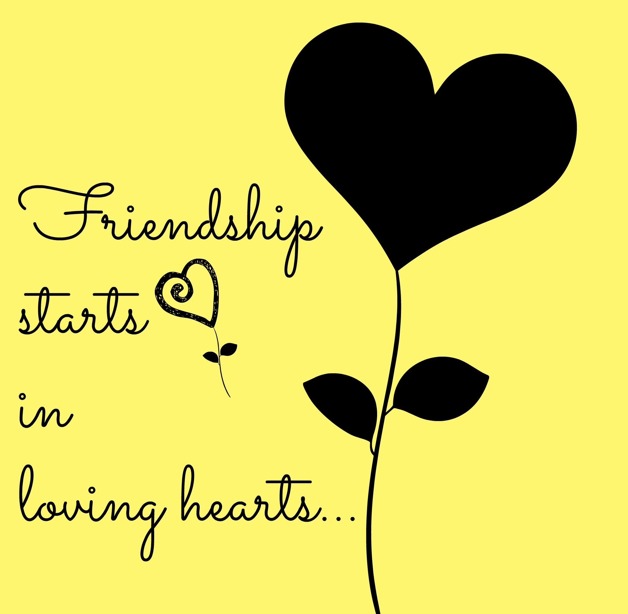 Wallpapers Love Friendship