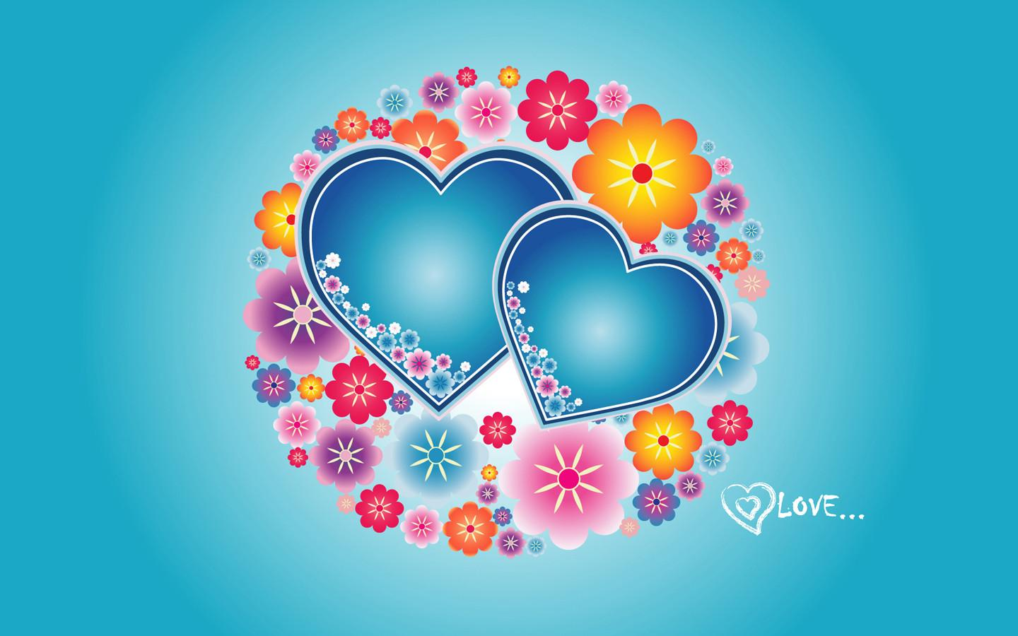 Wallpapers Of Hearts In Love