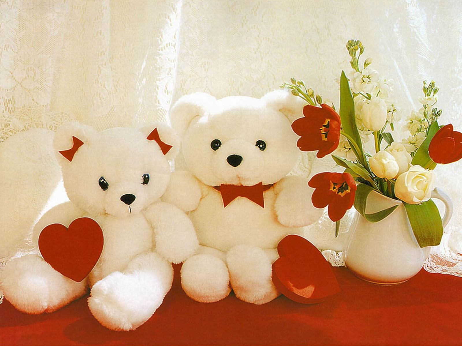 Animated love teddy bears