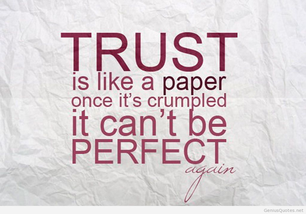 Wallpapers On Trust With Quotes