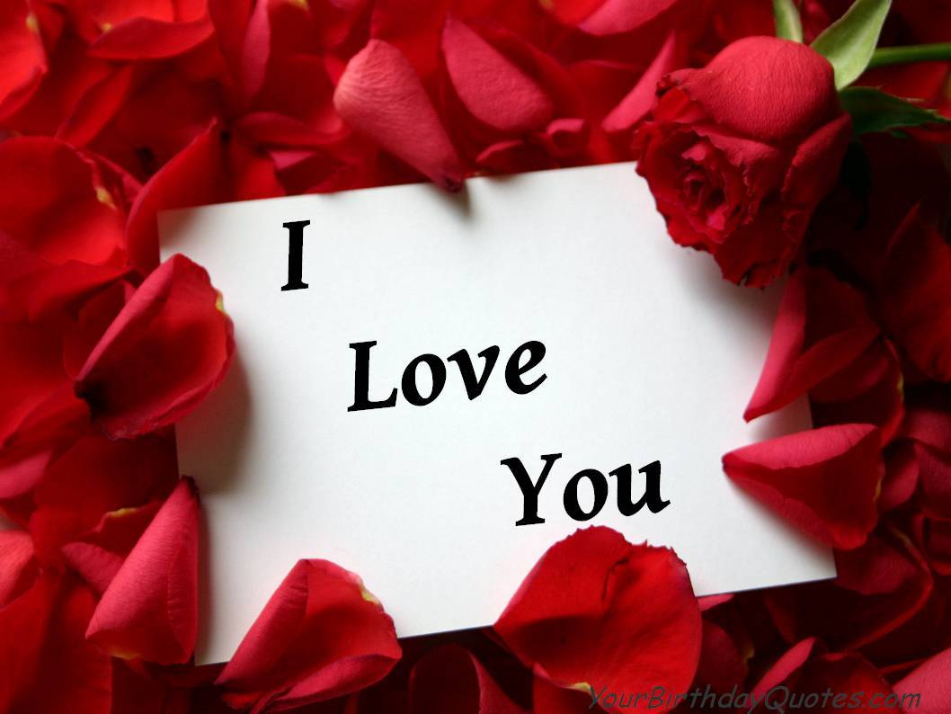 Download Wallpapers That Say I Love You Gallery