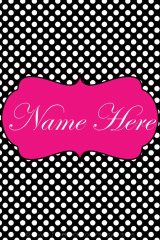 Download Wallpapers That Say Your Name Gallery Abstract Desktop Backgrounds Black And White