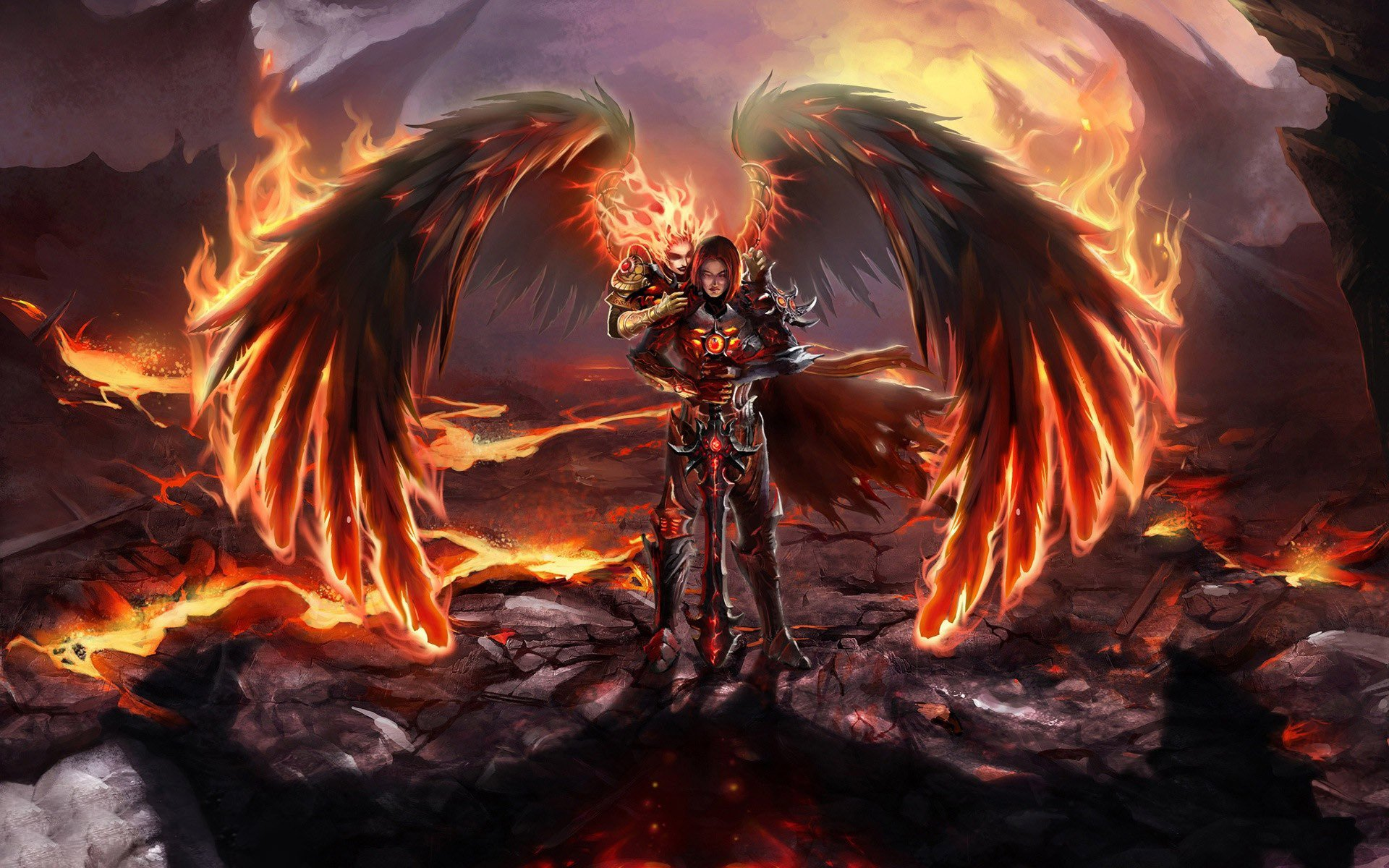 War Angel Wallpaper