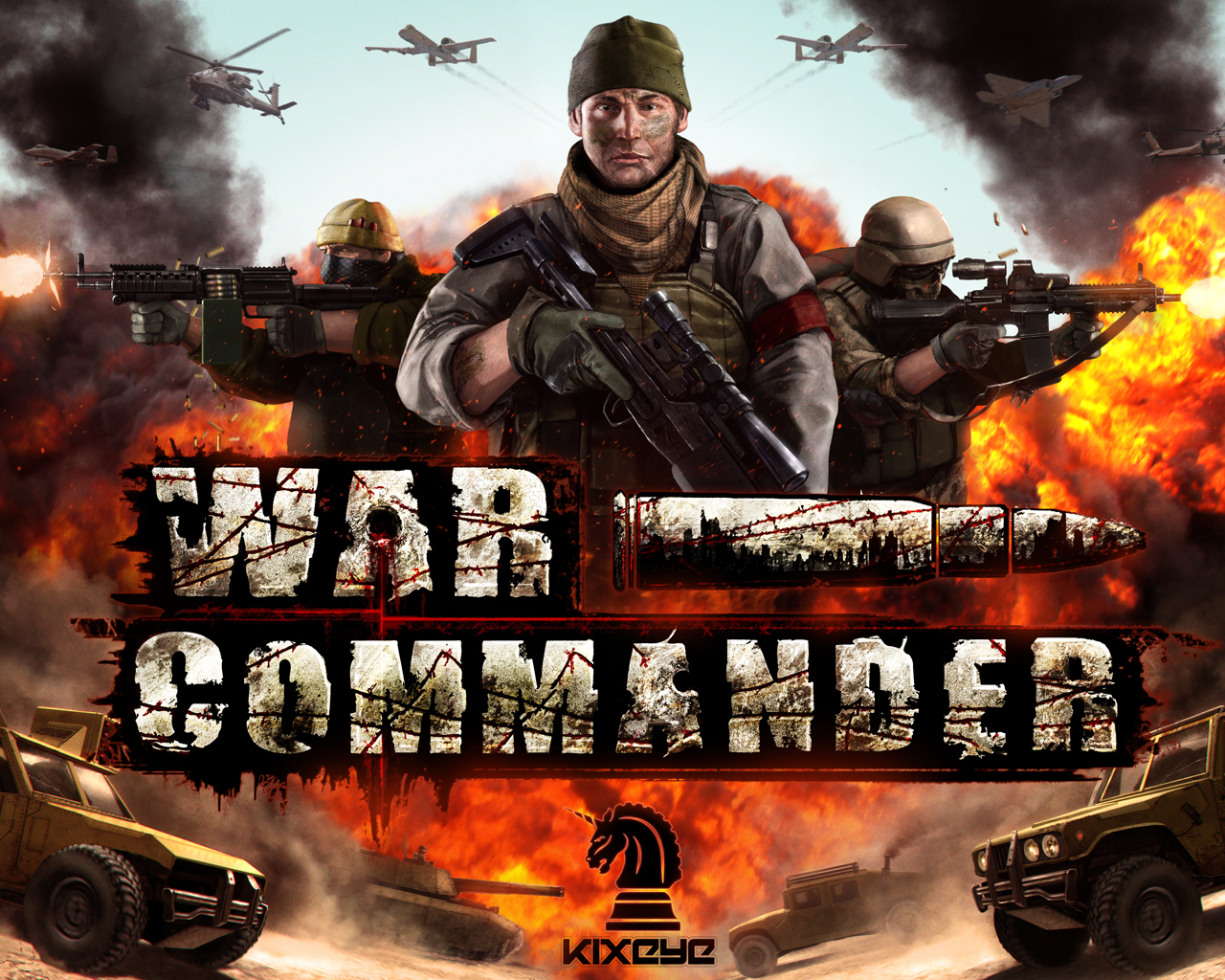 War Commander Wallpaper