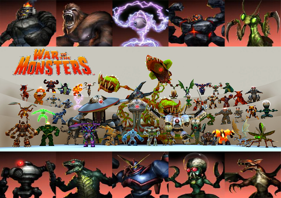 War Of The Monsters Wallpaper
