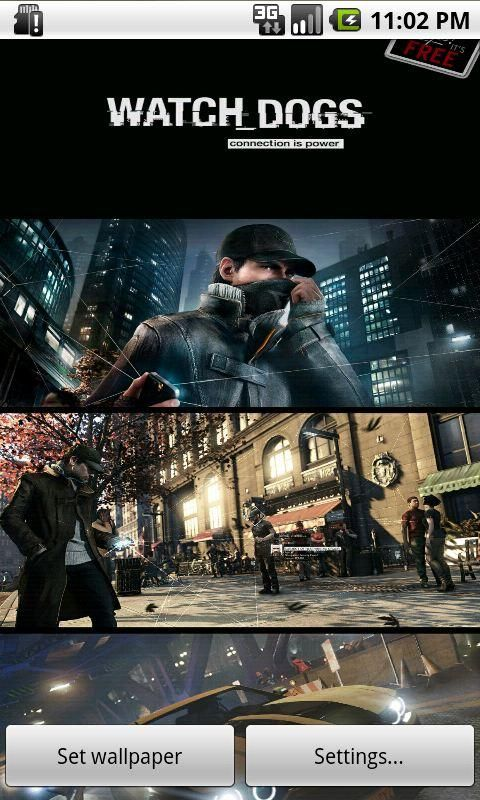 Watch Dogs Live Wallpaper