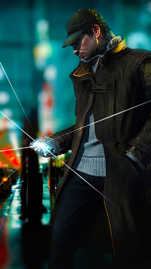 Watch Dogs Phone Wallpaper