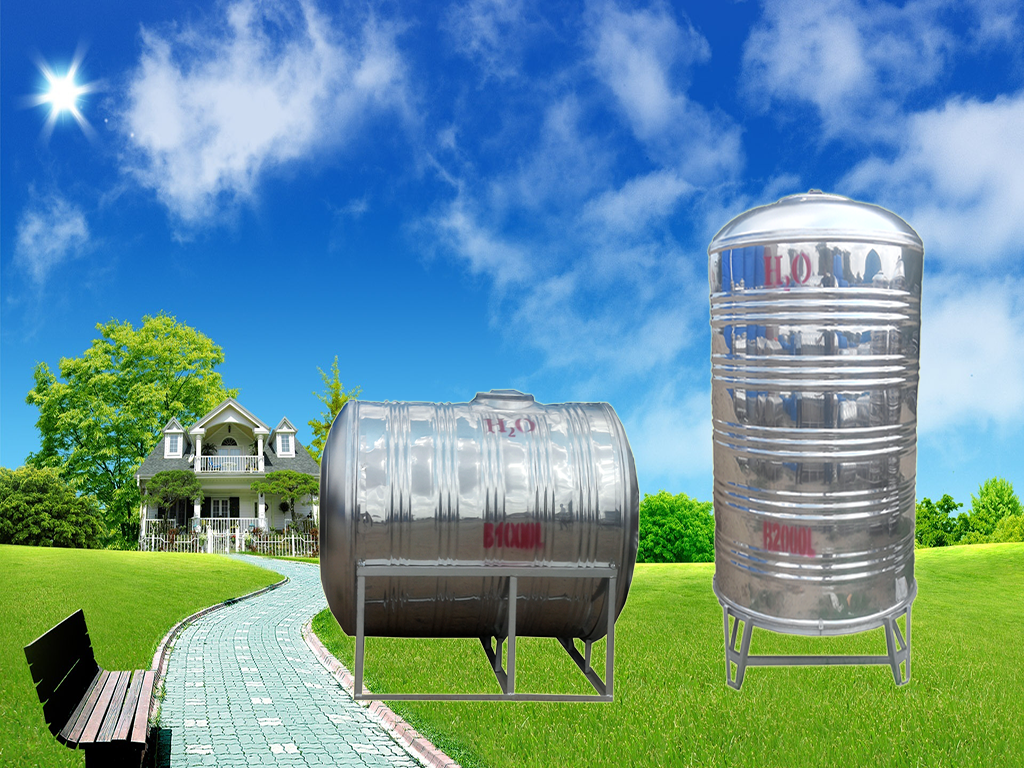 Water Tank Wallpaper