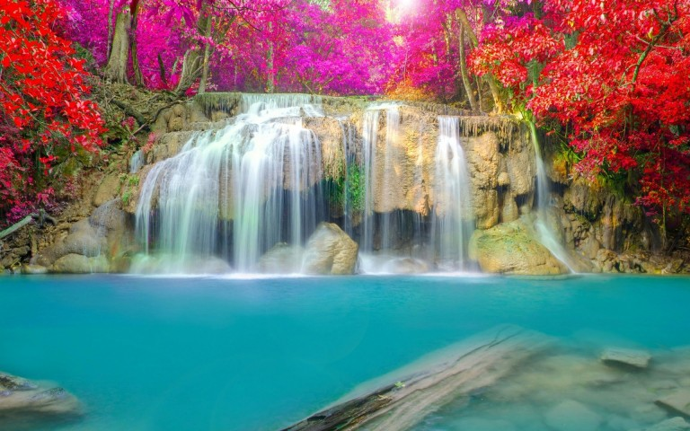 Waterfalls Wallpapers For Desktop Free Download