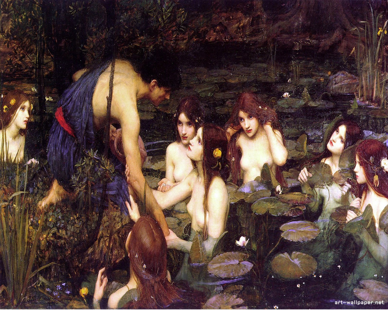 Waterhouse Wallpaper