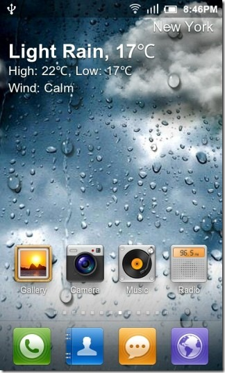 Weather App With Live Wallpaper