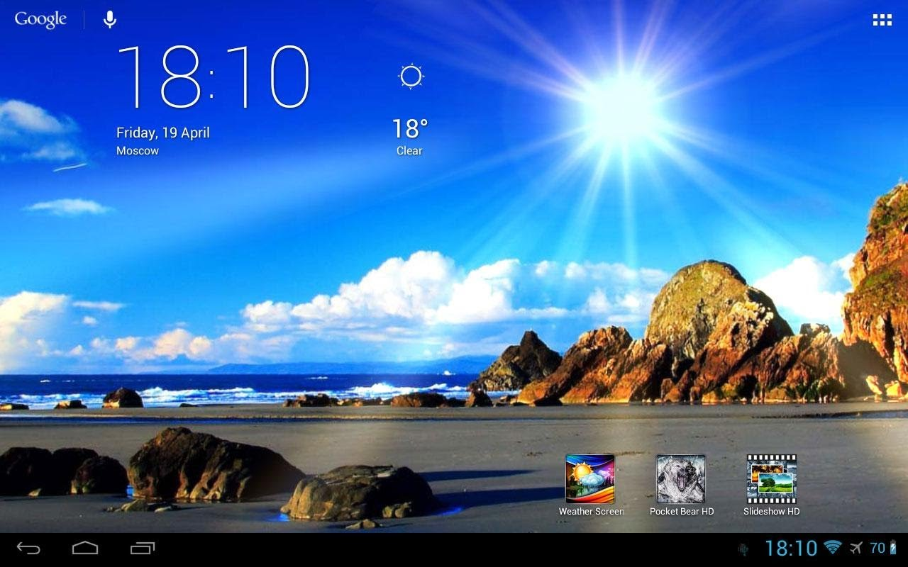 Weather As Wallpaper