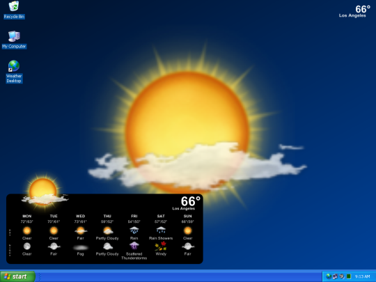 Weather Desktop Wallpaper