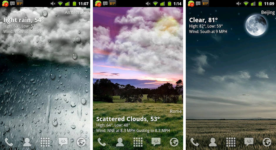Weather Wallpaper Android