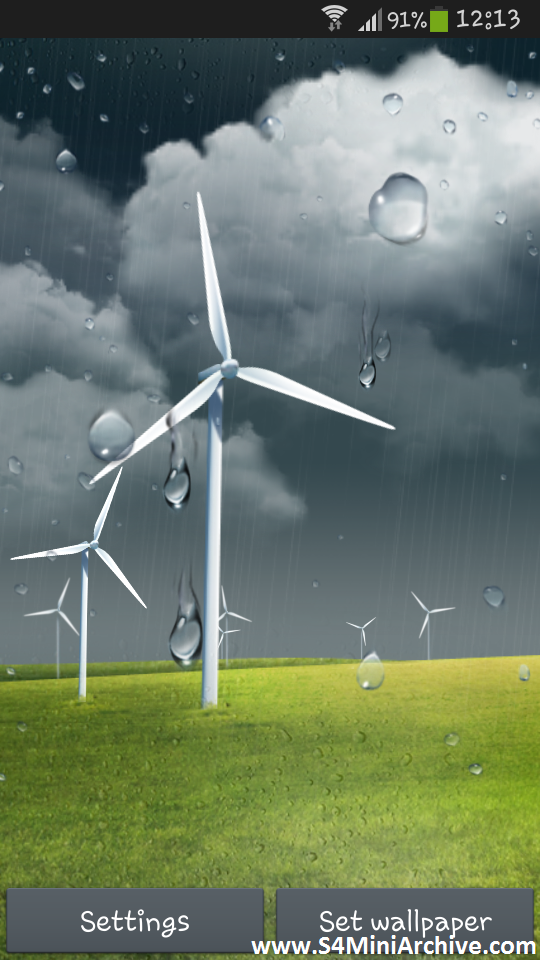 Weather Windmill Live Wallpaper