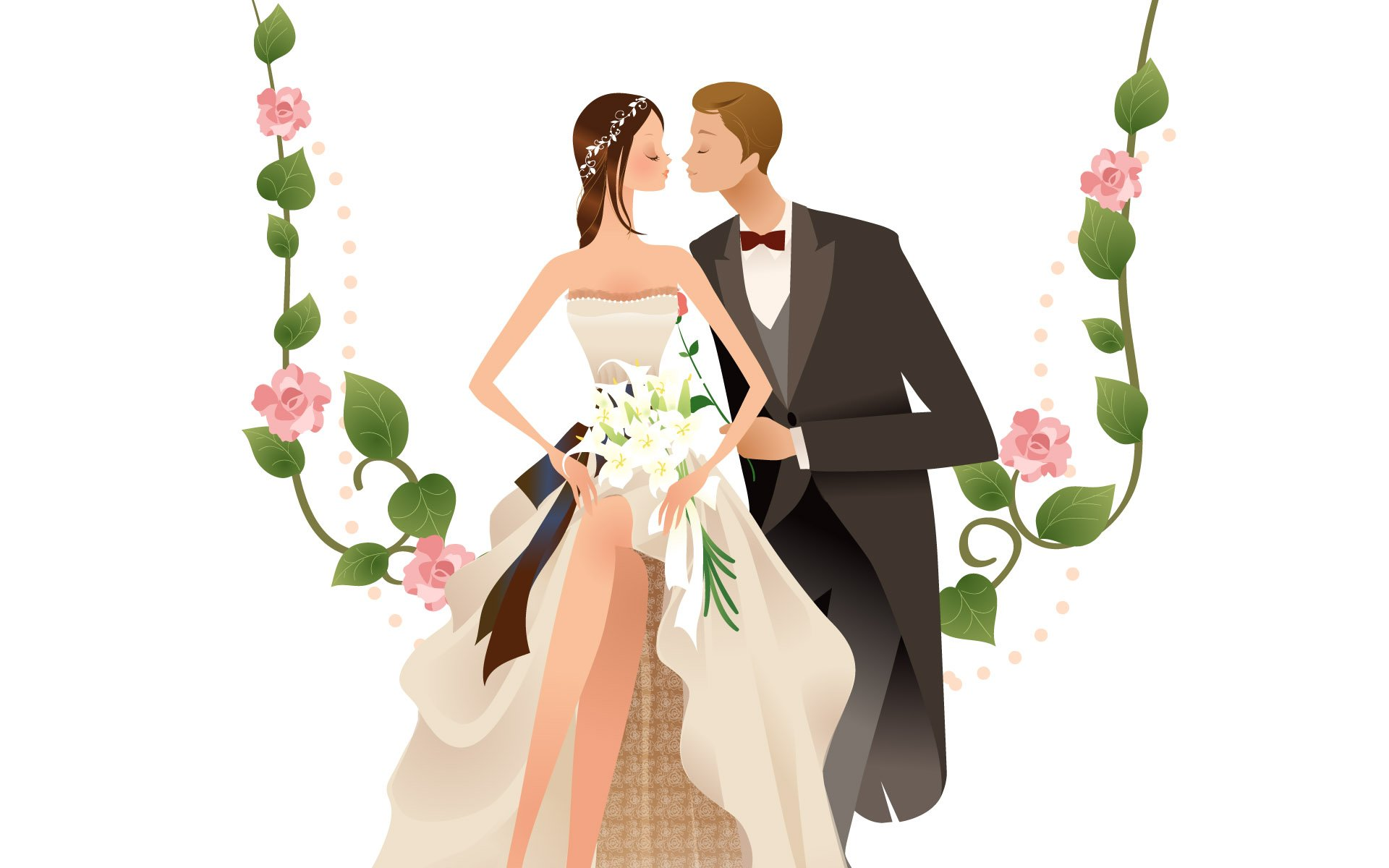 Wedding Couple Wallpaper