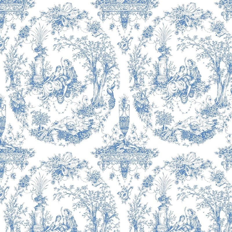 Wedgewood Blue Wallpaper