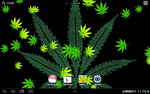 Weed Live Wallpaper Free