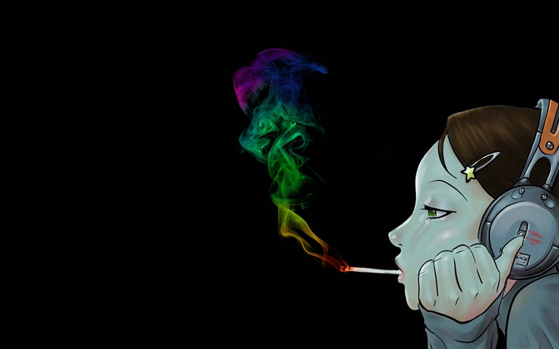 Weed Smoke Wallpaper