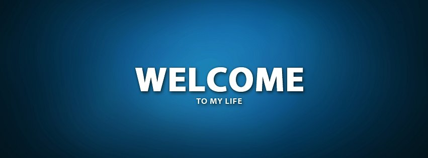 Welcome To My Life Wallpaper