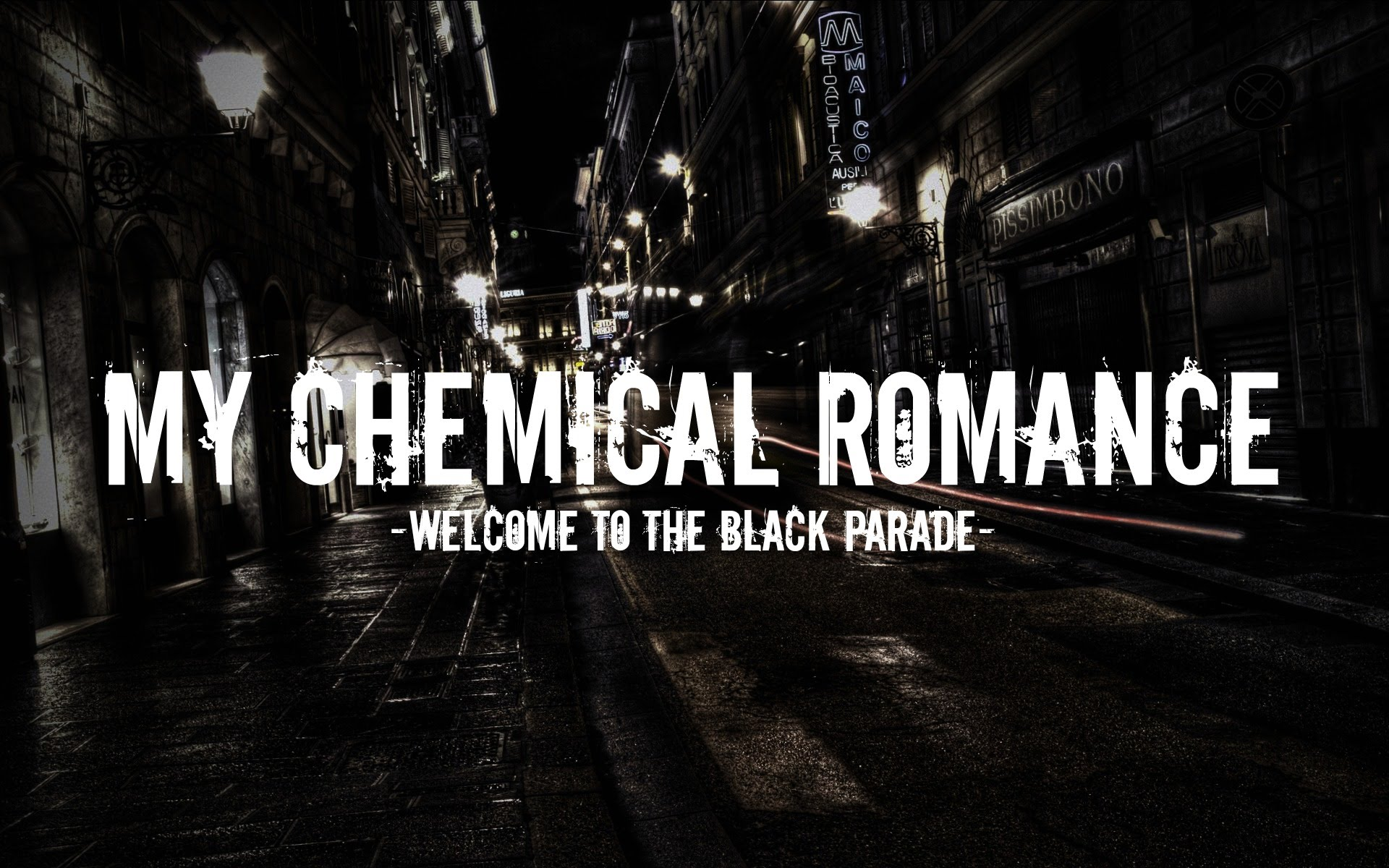 Welcome To The Black Parade Wallpaper