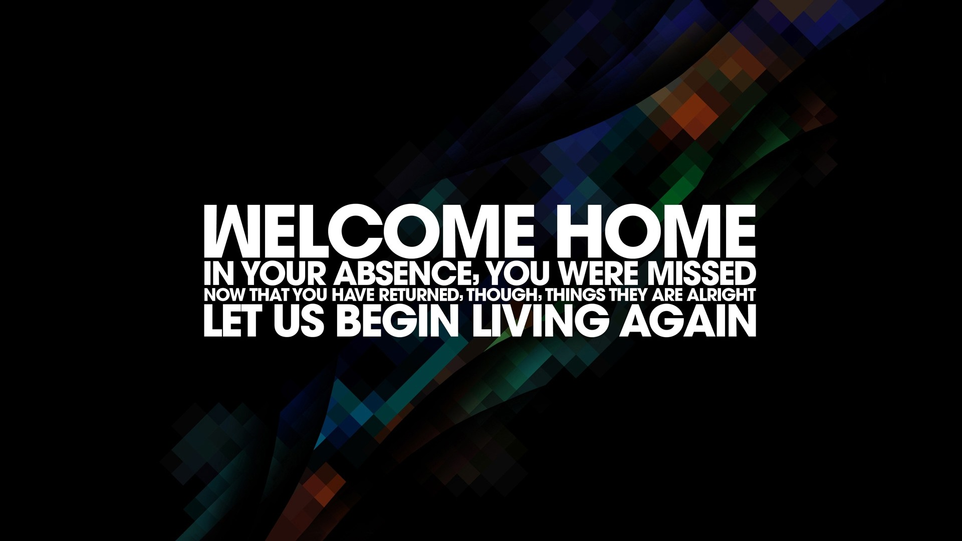 Welcome Wallpapers