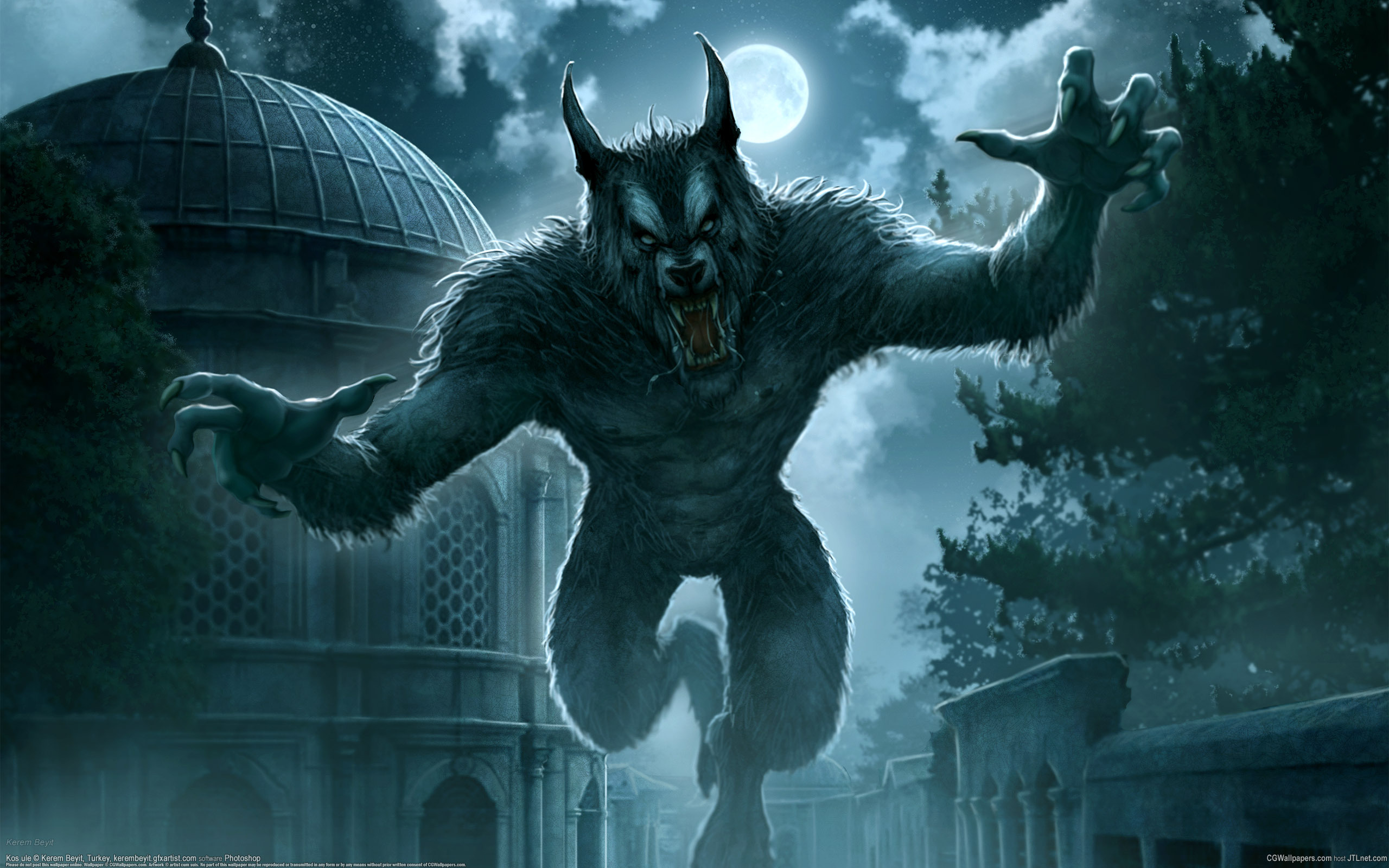 Werewolf Wallpaper