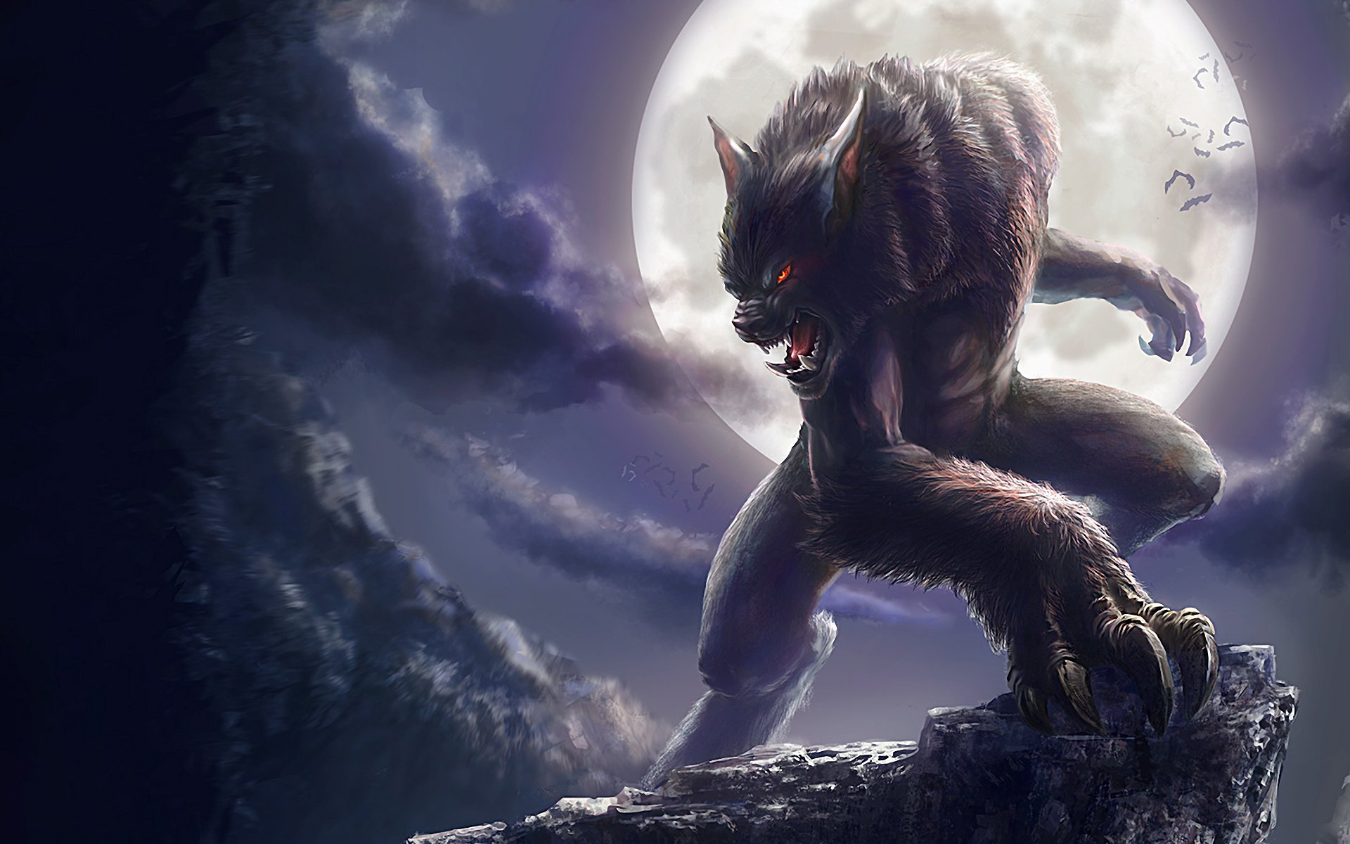 Werewolves Wallpaper