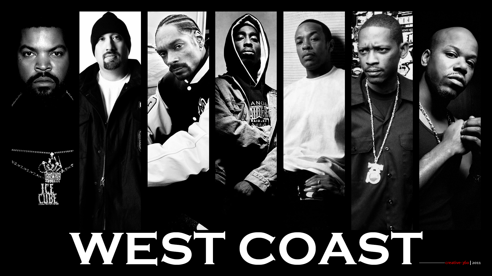 West Coast Wallpaper