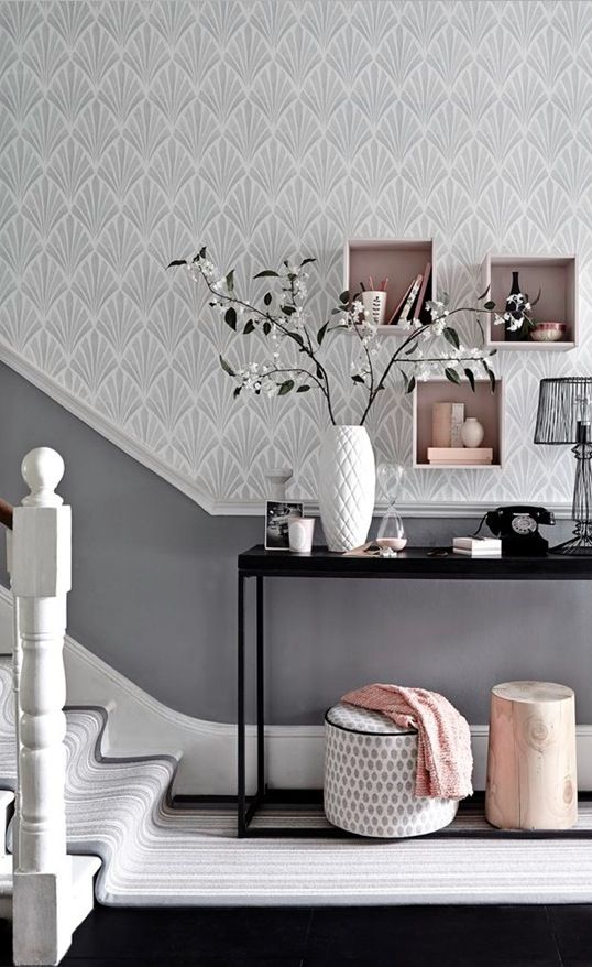 What Colour Paint Goes With Black Wallpaper