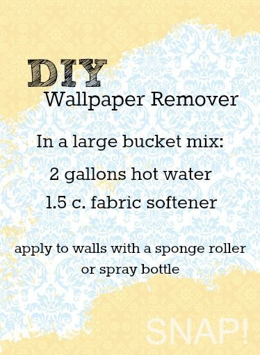 What Is The Easiest Way To Remove Wallpaper Border