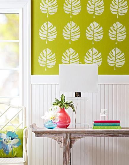 What Kind Of Paint To Use On Wallpaper