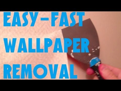 Whats The Best Way To Remove Wallpaper
